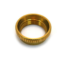 (1) Gold Deep Thread Nut for Switchcraft® Guitar/Bass Toggle Switch EP-4923-002