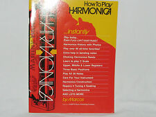 How To Play Harmonica Instantly! by Marcos Habif (1985) - Paperback