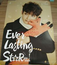 RYEOWOOK Ever Lasting Star - Ryeo Wook AGIT CONCERT GOODS 2 POSTER SET NEW