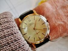 CAUNY PRIMA La Chaux de Fonds. Rare vintage Swiss watch (few pieces produced)