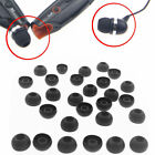 20pcs Small Soft Black Replacement Tips Earbuds for In-ear Earphone Headsets Hot