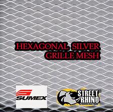 Seat Leon Sumex Aluminium Hexagonal Silver Grillle Mesh