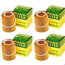 4 Pack Volvo Oil Filter MANN HU 925/4 Y Engine Oil Filter