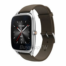 ASUS ZenWatch 2 Smartwatch Android Wear Sport Band Stainless Steel IOS Brown