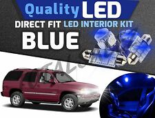 20x Bright Blue Interior LED Lights Package Kit for 2000-2006 Chevrolet Tahoe