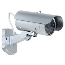 Emulational Fake Dummy CCTV Outdoor Security Camera with Flashing Red LED Light