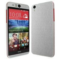 Skinomi Brushed Aluminum Tech Skin+Clear HD Screen Protector for HTC Desire Eye