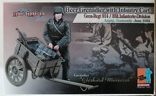 dragon cyber action figure german gerhard cart  1/6 12'' boxed did hot toy ww11
