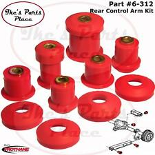 Prothane 6-312 Upper &Lower Rear Control Arm Bushing Kit-Pair 05-10 Ford Mustang