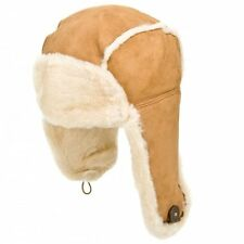 NEW / BNWT UGG AUSTRALIA £150 BAILEY AVIATOR TAN / CHESTNUT HAT   MORE LISTED