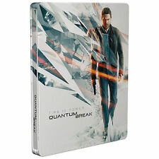 Quantum Break Steelbook Case (ONLY) for Xbox One NEW
