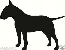 English bull terrier, wall sticker decal, silhouette. Great Gift For Dog Lover 6