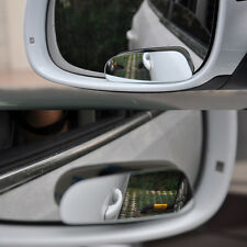 2*Universal Car Auto 360° Adjust Wide Angle Convex Rear View Blind Spot Mirror