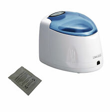 iSonic Ultrasonic Denture/Retainer Cleaner F3900, 110V, + sample denture powder