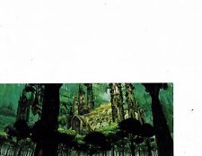 fantasy landscape poster castle in the trees  longest side 10 inches (132