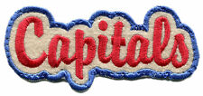"1969-70 WASHINGTON CAPS ABA BASKETBALL HARDWOOD CLASSICS 4"" SCRIPT PATCH"