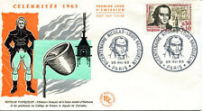 FRANCE FDC - 474A 1373 2 NICOLAS VAUQUELIN 25 5 1963