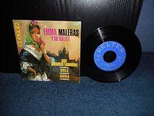 """7"""" 45rpm EP Emma Maleras Y Su Ballet - Agua, Azucarillos Y Aguardiente + 2"""