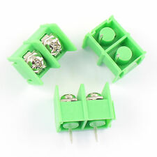 10 Pcs New 8.5mm Pitch 2 Pin 2 Way PCB Barrier Terminal Block Connector 300V 20A