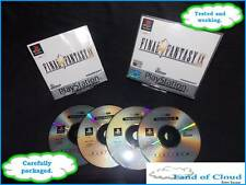 Final Fantasy IX (9) PS1 platinum game with manual + FREE Final fantasy figure