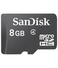 SanDisk 8GB Ultra MicroSD SDHC Micro SD Memory Card Class 4 - in Sealed Pack