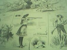 reprint usa news item 1886 camp buffalo bill wild west staten island