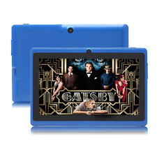 "Upgrade! 7"" Android 4.4 Quad Core 3G WiFi 16GB Dual Kamera Tablet PC Pad Blau"