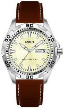 Lorus Men's Leather strap sports watch RXN47DX-9 RRP £49.99 Our Price £44.99