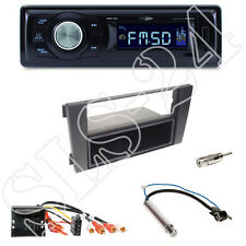 Caliber RMD021 USB-Radio + Audi A6 (2004,mit Bose) Blende + Quadlock-Adapter