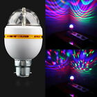 B22 3W RGB LED Color Light Bulb Lamp Crystal Stage For Party Disco Bar LN
