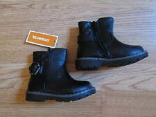 baby toddler girls black biker ankle boots - BNWT!! Blue Zoo Debenhams - size 5