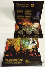 2009 Royal Australian Mint Astronomy Six Coin Mint Set -Sydney ANDA Coin Show