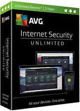 AVG Internet Security 2017 Unlimited Devices, 2 Years - New Retail Box PKC
