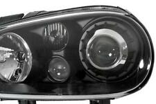 R32 Look Black projector headlights with fogs-  1 Pair - VW GOLF MK4