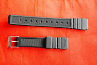 16 mm Silicone Rubber 16mm mens gents Watch Straps Bands Waterproof st-5