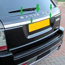 Chrome Lettering for use with Range Rover Sport Rear Tailgate Conversion Panel