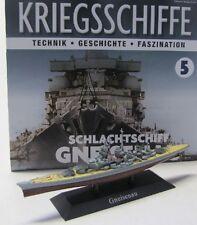 Schlachtschiff Gneisenau ( 1936 ) 1:1250 / ca.20 cm