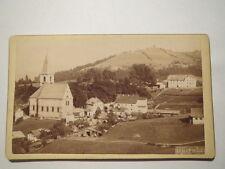 Dürrnberg - 1895 - Panormana mit Kirche / CDV