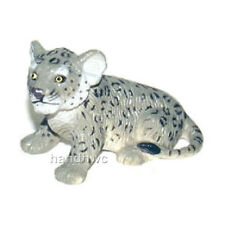 FREE SHIPPING | AAA 96725SIT Snow Leopard Cub Sitting Figurine - New in Package