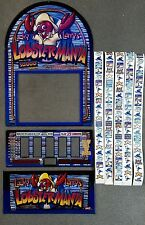 IGT Reel Touch Slot Machine LUCKY LARRYS LOBSTERMANIA Glass Kit with Reel Strips