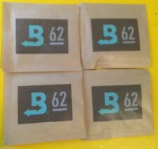 4 PACK Boveda 62% RH 2-Way Humidity Control,  8 gram,