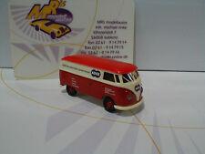 """Brekina 32670 # VW T1B Kasten Baujahr 1958 """" ADOX """" in rot-cremweiß 1:87 NEU"""