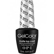 OPI GelColor – Matte Top Coat (15ml)