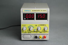 YH-1502DD+ CONSTANT VOLTAGE REGULATION POWER SUPPLY 15V 2A CELL PHONE REPAIR