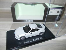 Ebbro 1/43 - Subaru BRZ - Silver - Mint in box