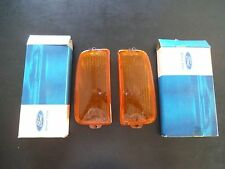Ford Cortina Mk 4 TE Front Indicator Lenses L & RHS N.O.S. Genuine