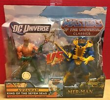 New Crossover DC & Masters Of The Universe Aquaman Vs Mer-Man Action Figure 2010