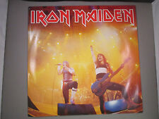 "IRON MAIDEN Running Free 12"" single vinyl EMI 12 5532 UK import 1985"