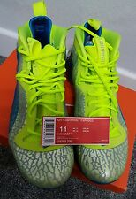 BN Genuine Nike air flightposit exposed neon mens basketball trainers UK 10 RARE
