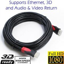 30FT 24K Gold Plated HDMI v1.4 Cable 1080p 3D Ethernet For DVD PS3 HDTV XBOX LCD